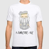 A-DUMBLEDORE-ABLE.  Mens Fitted Tee Ash Grey SMALL