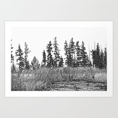 The Dancing Woods Art Print