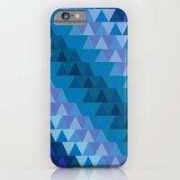 iPhone & iPod Case featuring Digital Waves by emain