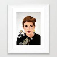 Gia Framed Art Print