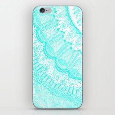 Doodle Madness AQUA iPhone & iPod Skin