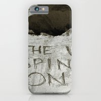 iPhone & iPod Case featuring Spin right round by Smileybriggs
