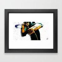 Dave Lizewski Framed Art Print