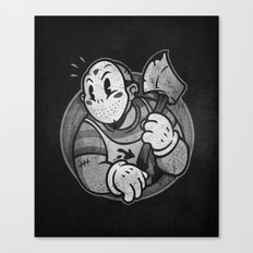 HorrorToon 2: Nightmare on Toon Street Canvas Print