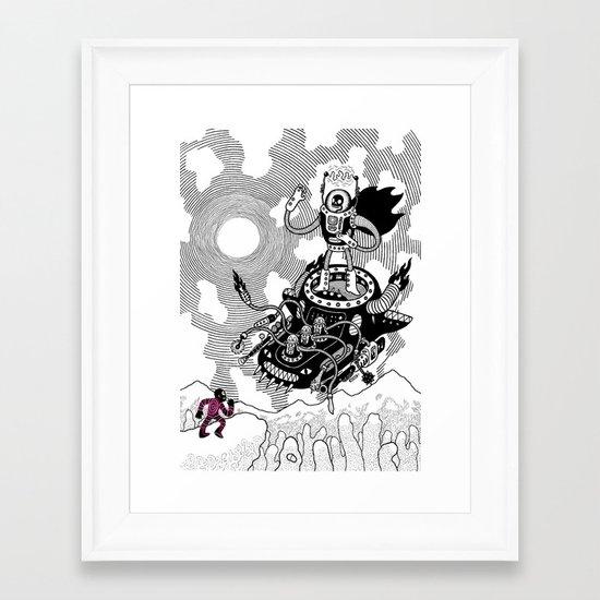 So we meet again! Framed Art Print