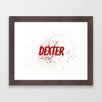 Dexter#01 Framed Art Print