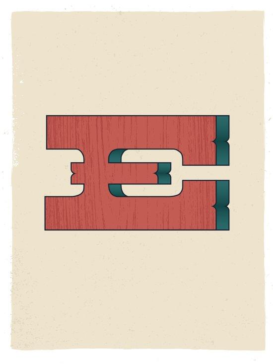 E 001 Art Print