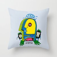 My Imagination Throw Pillow