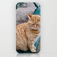 iPhone & iPod Case featuring The Cat by Cade Leebron
