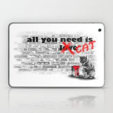 All You Need Is... Cat Laptop & iPad Skin