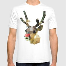 Poor Rudolph - Christmas White Mens Fitted Tee SMALL