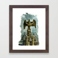 rain ghosts, part two Framed Art Print