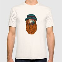 Finding Galaxy Mens Fitted Tee Natural SMALL