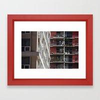 Apartments Framed Art Print