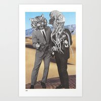 They Made Us Detectives … Art Print