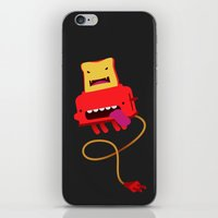 Red Toast iPhone & iPod Skin