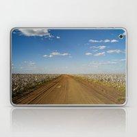 Cotton Fields In Brazil Laptop & iPad Skin