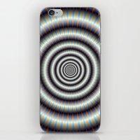 Hypnotic Rings iPhone & iPod Skin
