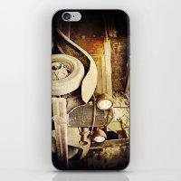 Vintage metal iPhone & iPod Skin