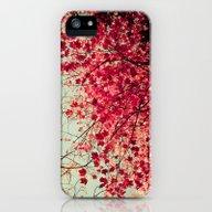 Autumn Inkblot iPhone (5, 5s) Slim Case