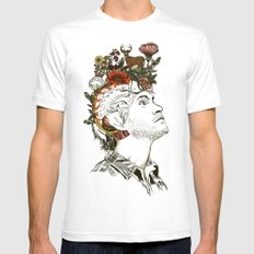 This Is My Design Mens Fitted Tee White SMALL