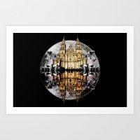 Crystals, Castles, And M… Art Print
