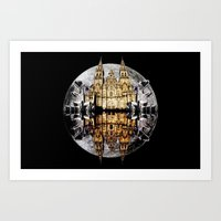 Crystals, Castles, And M… Art Print