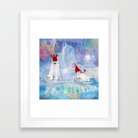 The Ice Party Framed Art Print