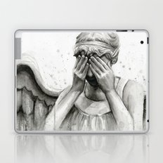 Weeping Angel Laptop & iPad Skin