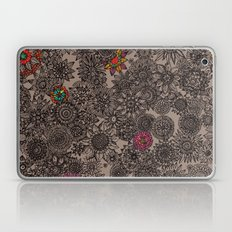 Flower Pattern Laptop & iPad Skin