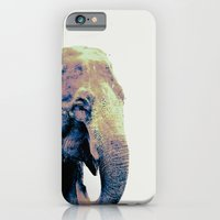 """iPhone & iPod Case featuring """"E"""" Is For Eventually : The Elephant Never Forgets by The Omnivore"""