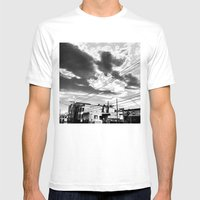 CafeTazo SF Street Photo Mens Fitted Tee White SMALL