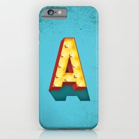 A in lights iPhone 6 Slim Case