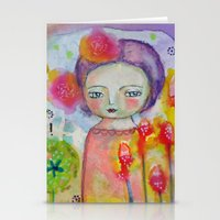 I am Brave ! Stationery Cards