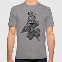 You And I Were Meant To Soar Mens Fitted Tee Athletic Grey SMALL