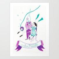 Sea Freaks Art Print