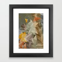 Hall of mirrors Framed Art Print