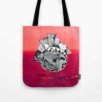 Orb In Sea Tote Bag