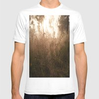 Fantasy forest Mens Fitted Tee White SMALL