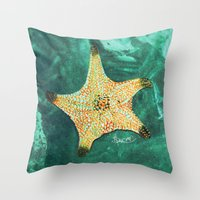 Starfish ~ 2 Throw Pillow