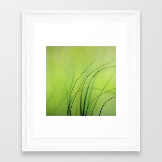 Sway  (Grass) Framed Art Print