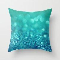 Bubble Party Throw Pillow