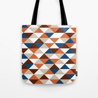 Triangle Pattern #5 Tote Bag