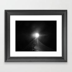 Accident photographique Framed Art Print