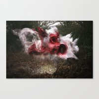 Deliver the Explosion Canvas Print