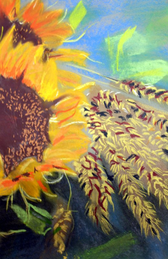 Rectory Series: Girasol #4 Art Print