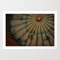 Umbrella2 Art Print