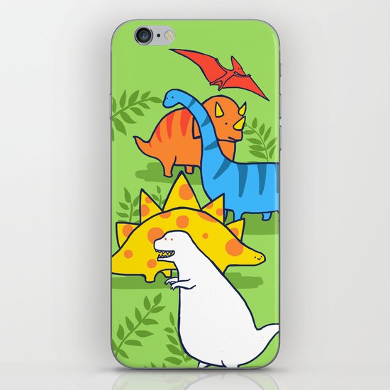 Albinosaur iPhone & iPod Skin