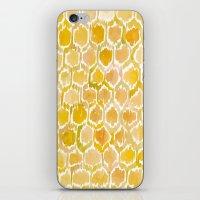 Golden Honeycomb iPhone & iPod Skin