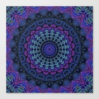 For the Love of Mandalas Canvas Print